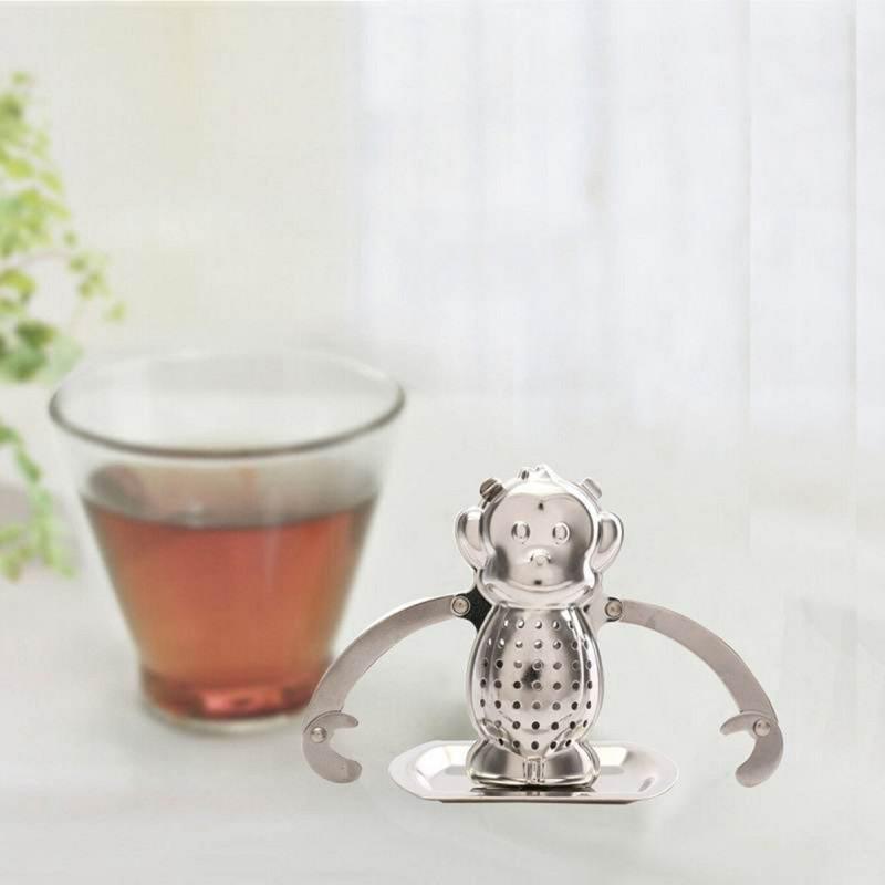 Boule à thé singe