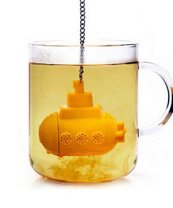 Boule à thé sous-marin