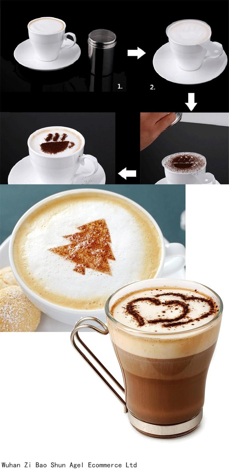 Pochoir café
