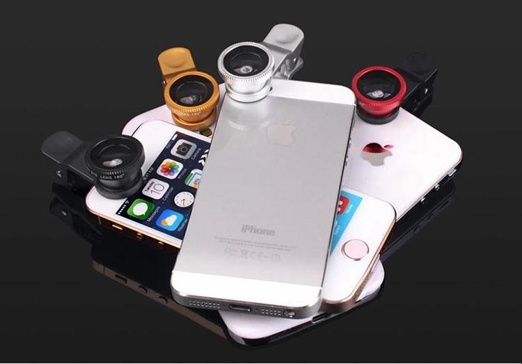 Lentille iphone