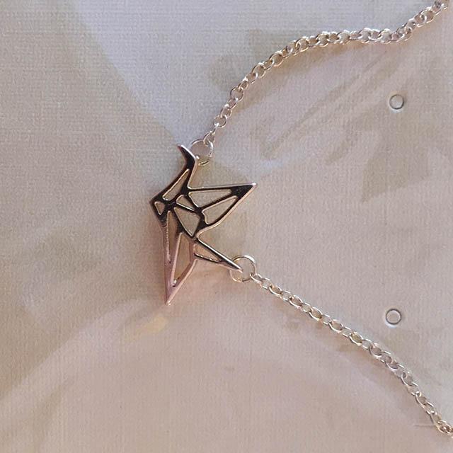 bijoux origami oiseau
